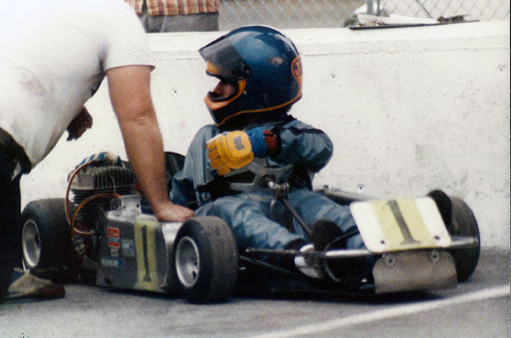 Jesse Samples Jr - #1 rank in World Karting Association